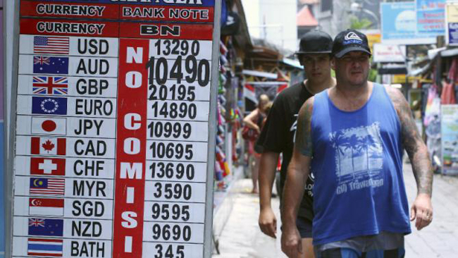 Money and Money Changers in Bali