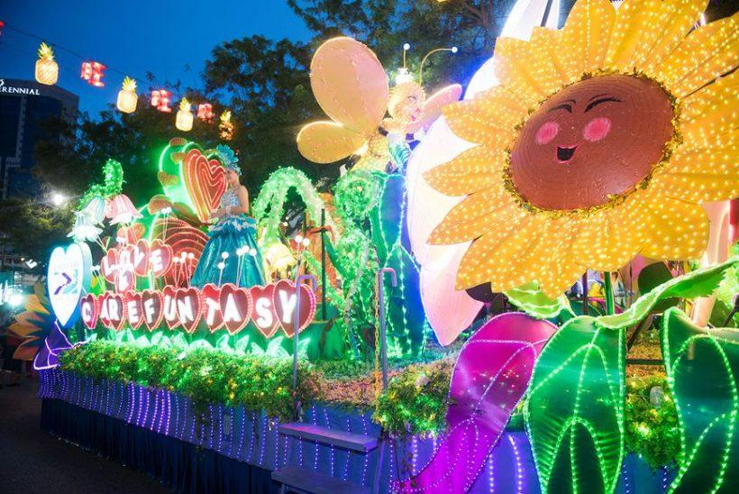 Chingay Desfile De Singapur Un Punto Culminante De Ano Nuevo Chino