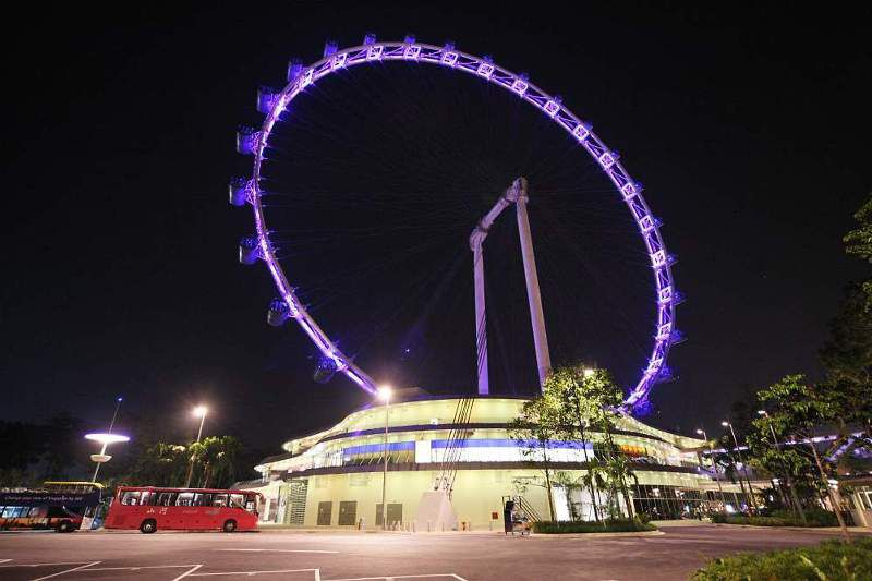 Le Singapore Flyer – 2e plus grande observation Roue du monde