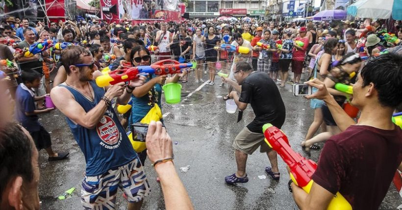 Songkran: The Water Festival Thailand