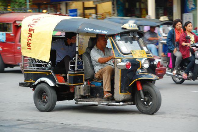 Locomoção Tailândia - Opções Top de Transporte na Tailândia