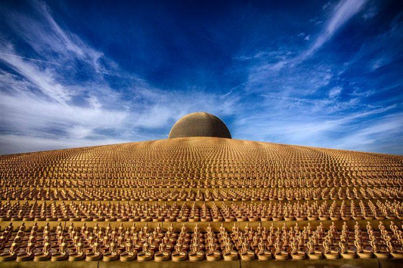 Wat Phra Dhammakaya: Didžiausias pasaulyje šventyklos
