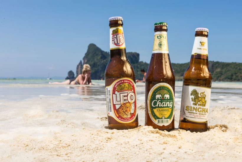 Top Thai Beer Brands - A 3 Most Popular Cervejas na Tailândia