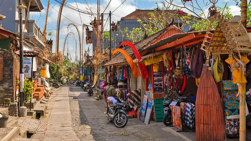 Come fare shopping a Bali