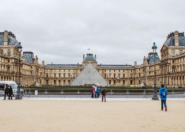 Vinkkejä ensimmäinen vierailu Louvresta