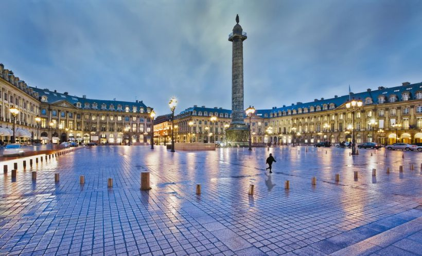 Place Vendôme i Paris: The Complete Guide - en klassisk parisisk torg med Iconic Elegance