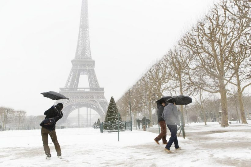 Žiemos Paryžiuje: Oras, Ką Pack ir ką pamatyti