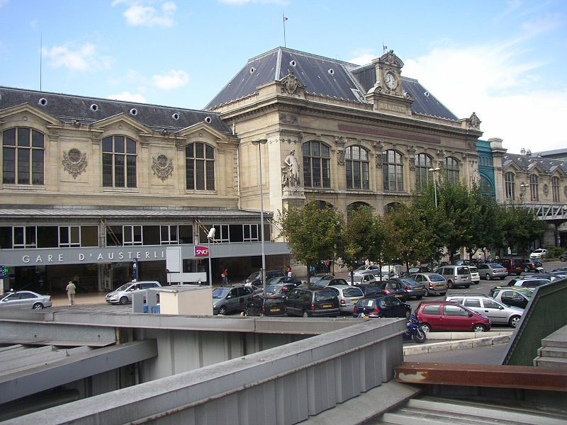 Paris Gare d'Austerlitz Station