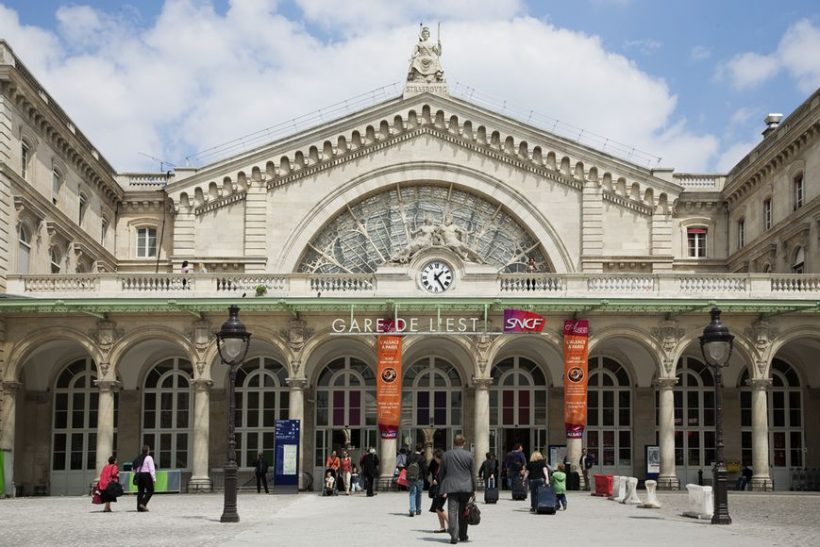 Przewodnik po dworców głównych w Paryżu: Gare de l'Est