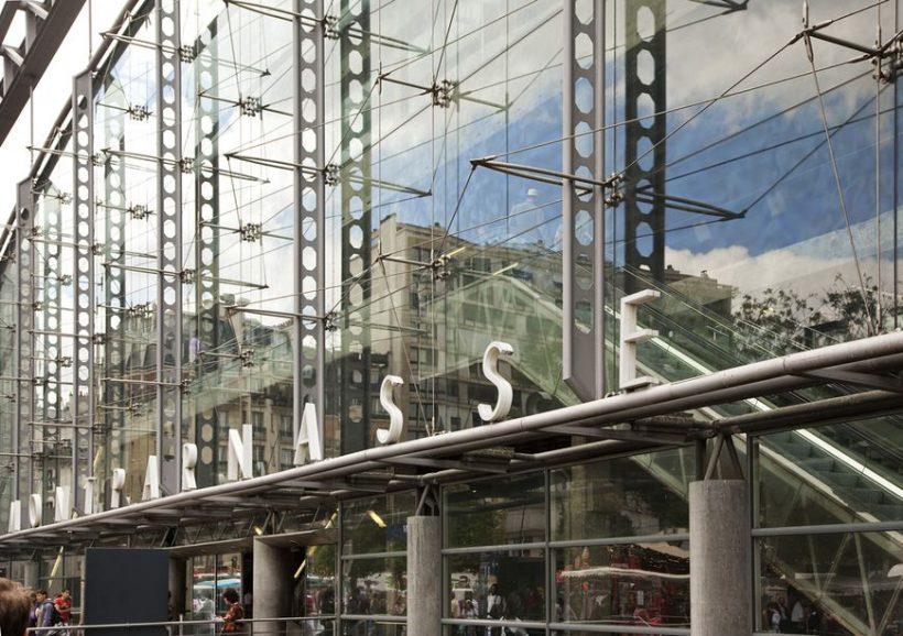 La estación de tren Paris Gare Montparnasse