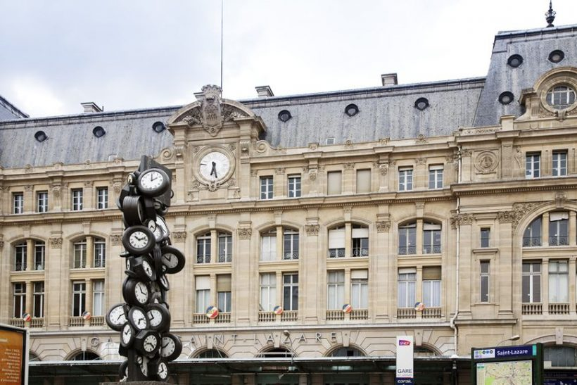 Guide to Paris Saint-Lazare raudteejaam