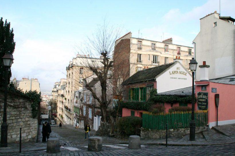 Au Lapin Agile Kabaretas Paryžiuje