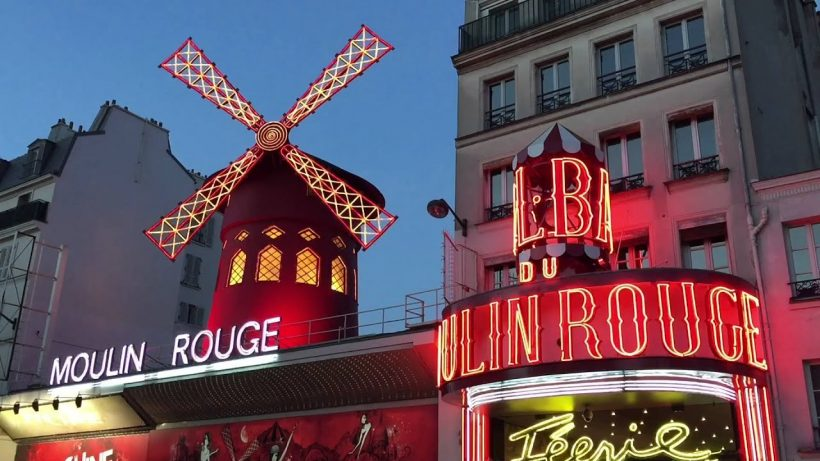 Pigalle Place Red Light District i Paris