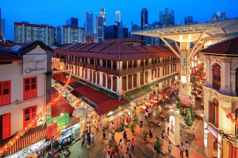 Centri commerciali a Chinatown, Singapore – di Singpore Original Shopping Destination