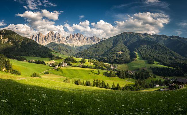 הגיאוגרפיה של איטליה