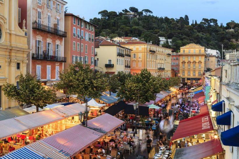 Nice, Fransa için Gıda Aşıklar