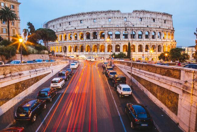 Hvor man kan gå og hvad at se i Italien