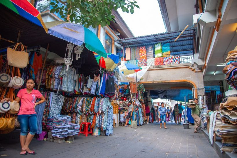 Shopping i Ubud og rundt Central Bali
