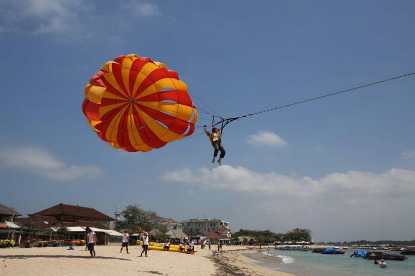 Průvodce Bali vodních sportů Hotspot Tanjung Benoa