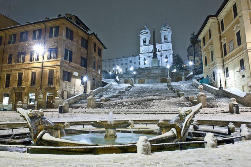Italia en invierno: El tiempo, qué llevar, y qué ver