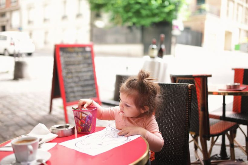 Eating Out Z Kids v Parizu – Od prigrizki formalnih Prehrana
