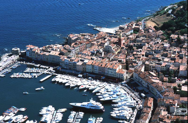 Führer zu Saint Tropez in Südfrankreich