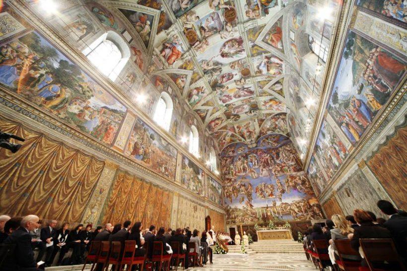 Как да посетят Сикстинската капела и Какво да се види