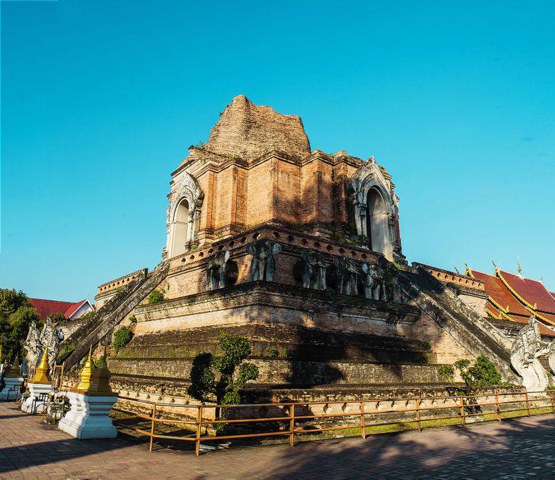 Top budhistické chrámy v Chiang Mai na návšteve