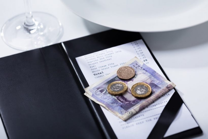 A Guide to Tipping i Storbritannia