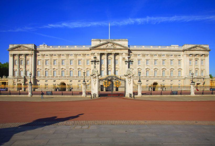 Zu Besuch in Buckingham Palace London