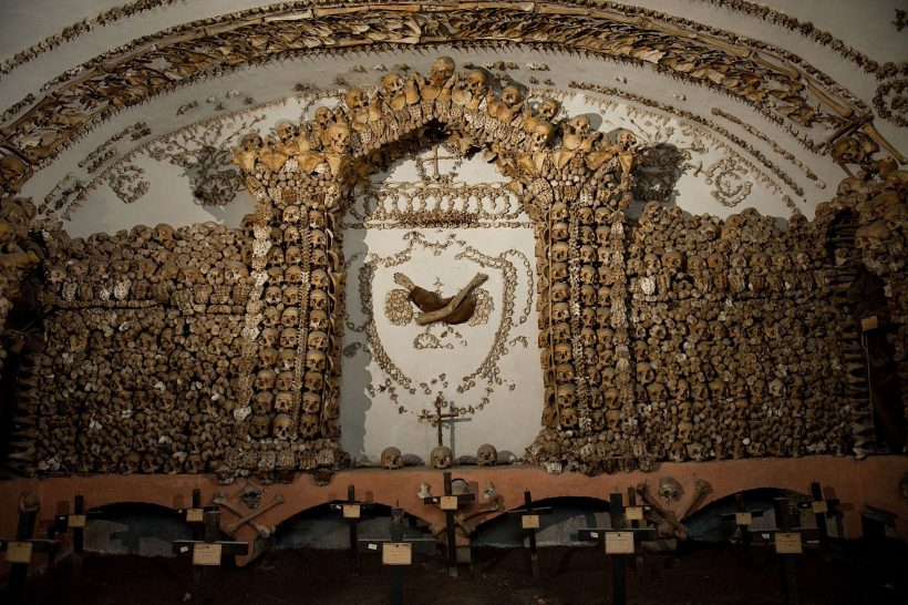 Skrämmande platser att besöka i Rom