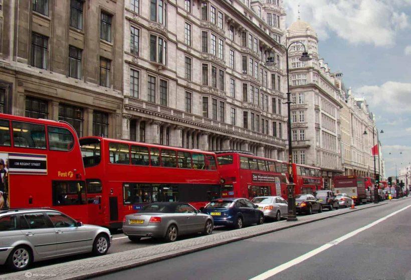 Jízda v Londýně: Co potřebujete vědět
