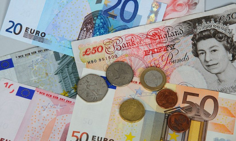 Můžete používat euro v Anglii a po celé Velké Británii?