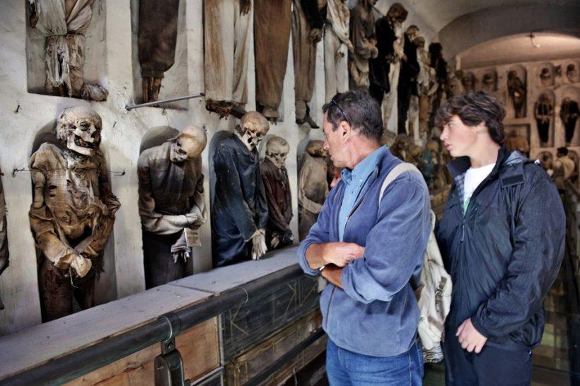 Katakomby a Mumie v Itálii – Místa v Itálii objevit katakomby a mumie