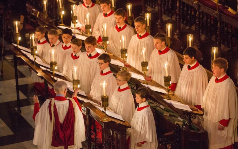 Carols från Kings - A Cambridge jul Tradition öppen för alla