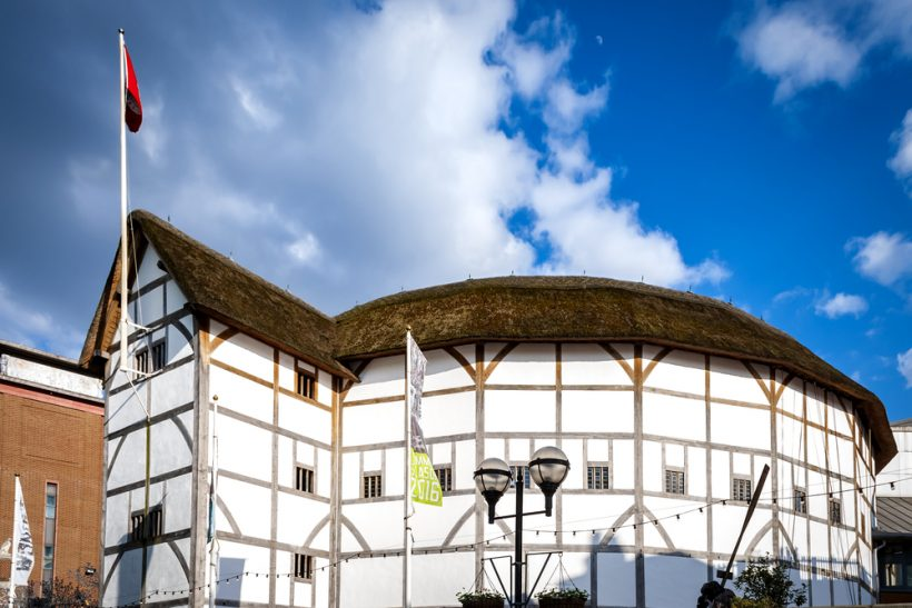Shakespeare's Globe Theatre in Londen
