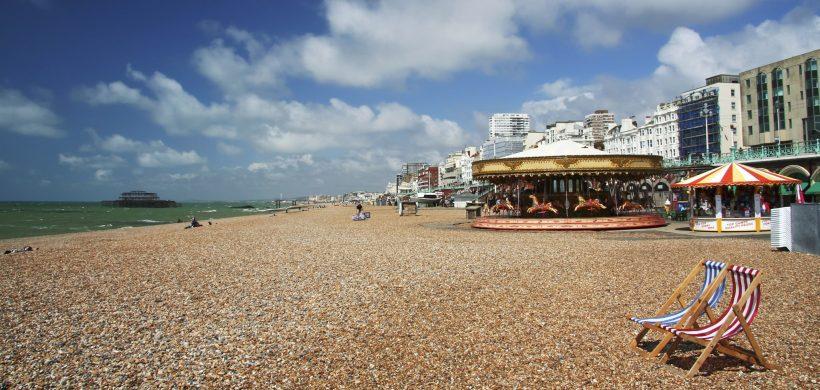 """Brighton-guide: Ting at gøre, steder ophold, Spise middag, Festivaler og sjov på """"Londons Beach"""""""