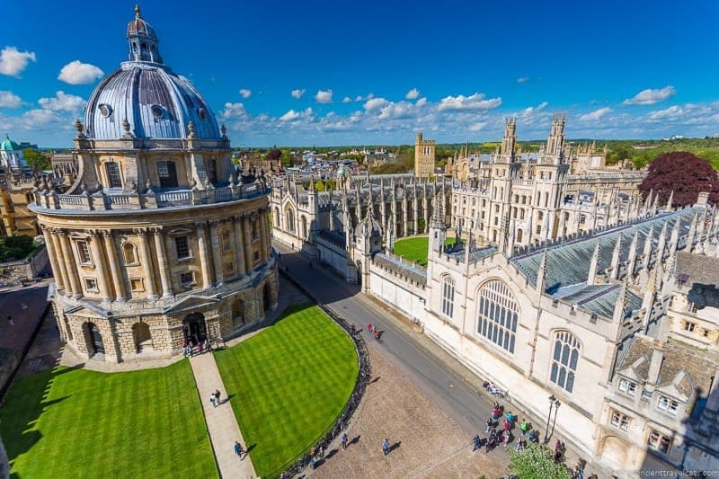 12 En İyi şeyler Oxford Yapılacak