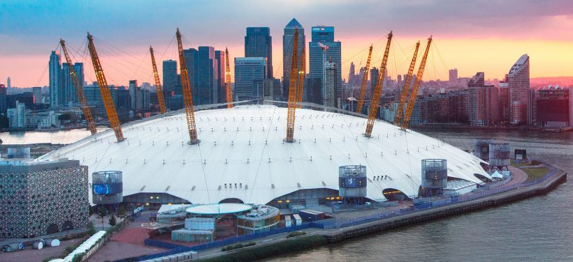 No The O2: subir no telhado de The O2 Arena - Londres