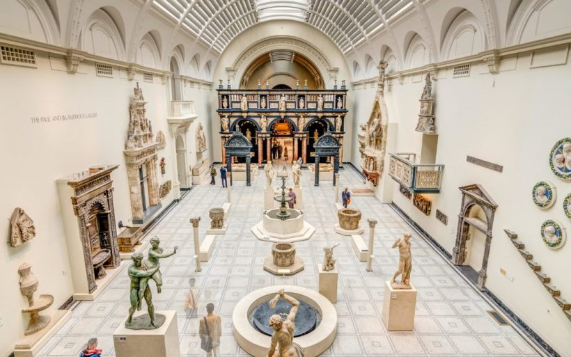 Londons Victoria and Albert Museum - Verdens største Kunstindustrimuseet og Design