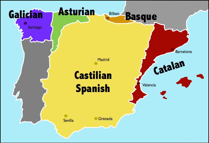 Ktoré jazyky sú hovorené v Španielsku?