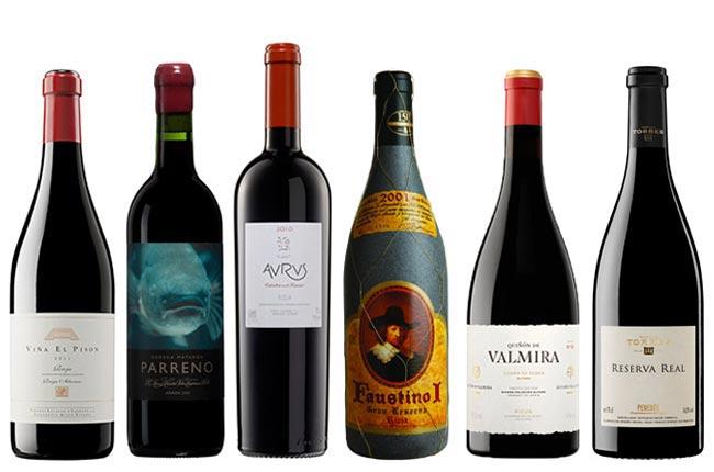 Ce Crianza, Reserva si Gran Reserva medie pe sticle de vin din Spania?