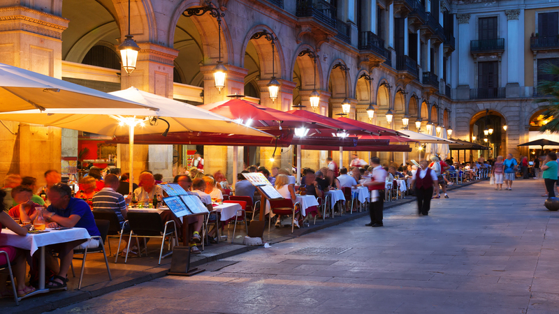 Kako se izogniti scammed v restavraciji v Španiji