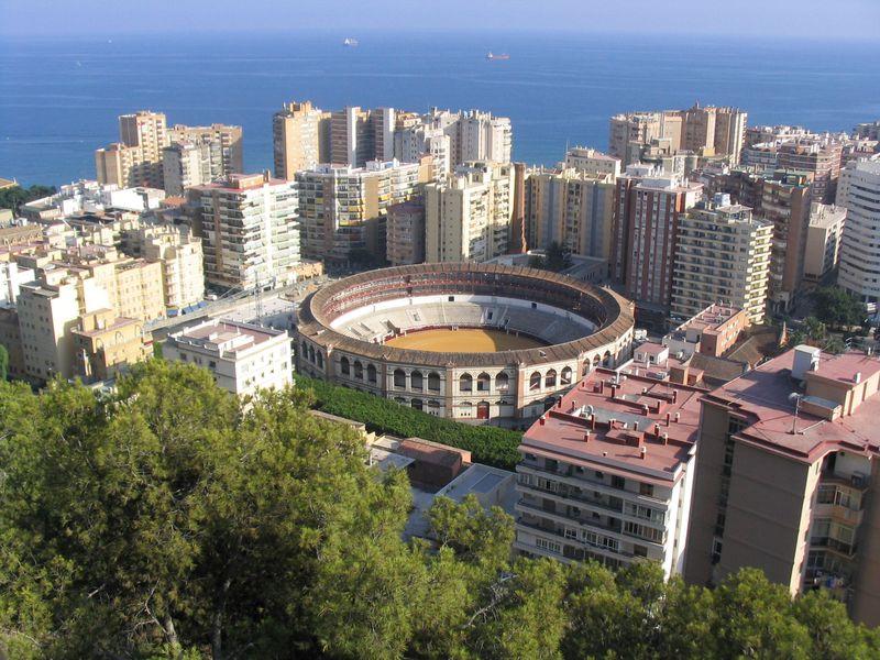 Kur pamatyti bulių kautynėse, esantys Malaga, Ronda, ar Costa del Sol
