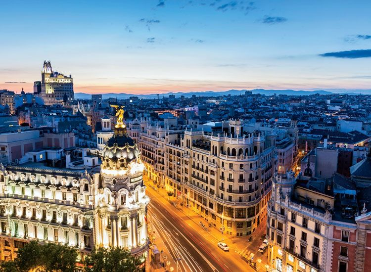 Najpopulárnejších miest k návšteve v Španielsku