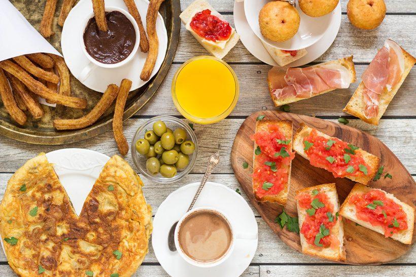 Snídaně ve Španělsku