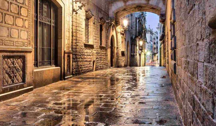 Gotiske kvarteret i Barcelona