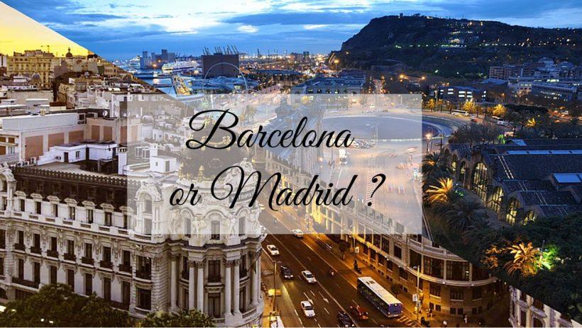 Kateri je boljši za obisk: Madrid ali Barcelona?