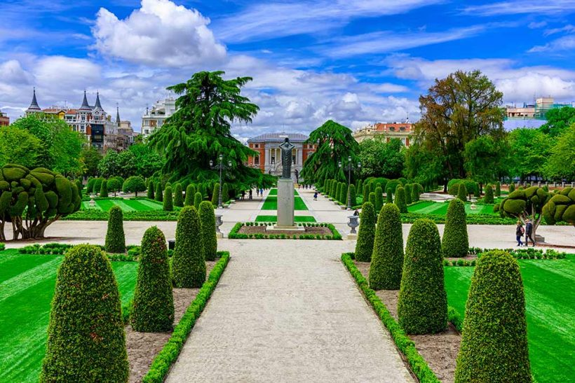 El Retiro: En vejledning til Retiro Park i Madrid, Spanien