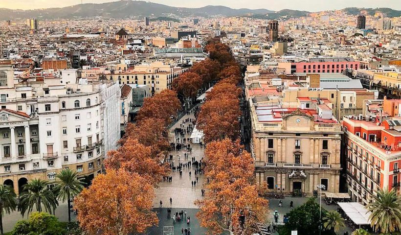 Ce se poate face pe Las Ramblas din Barcelona
